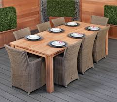 Modern Garden Table Rustic