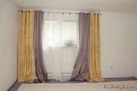 Telescoping Curtain Rod Brackets by Cheap Cheap Curtain Rods With Elegant Martha Stewart Curtains For