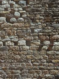 Rock Structure Texture Building Wall Stone Pattern Facade Brick Material Stones Background Ruins Brickwork