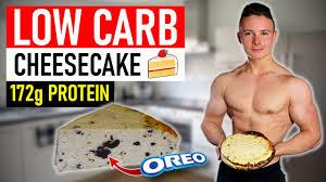 low carb cheesecake mit 172g protein das beste fitness