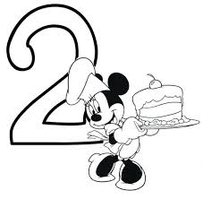Minnie Mouse Printable Birthday Card Coloring Pages Bow Template For Cake Free Images