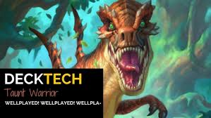 Hearthstone Taunt Deck 2017 by Playing Hearthstone U0027s Taunt Warrior Blizzard Watch