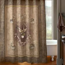 Hunting Camo Bathroom Decor by Shower Curtains
