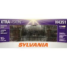 more downroad vision sylvania h4351 xtravision headlight bulb