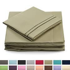 thick cotton sheets amazon com