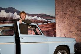 100 Rupert Grint Ice Cream Truck Ron Weasley Visits The Flying Ford Anglia In Beaulieu Autoevolution
