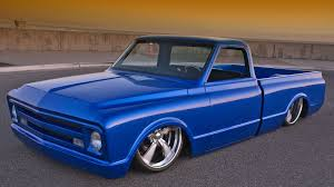 1968 Blue Steel Chevy Pickup | Cool, Classic Pickups, Vans & Such ...