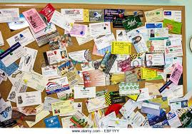 Clermont Florida Community Bulletin Board Business Cards Offers