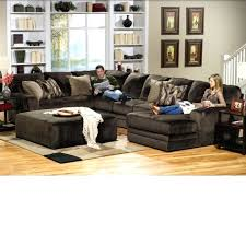 stupendous brown sectional living room chocolate brown sectional