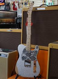 Fender Brad Paisley Road Worn Telecaster Electric Guitar With Gig