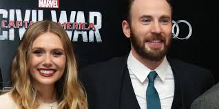 Captain America Civil War Stars Chris Evans And Elizabeth Olsen Dismiss Dating Rumors