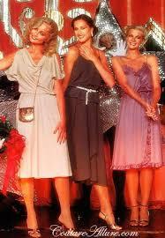 Disco Fashion 1978 Classic Dresses Tan DressesVintage Style 70s