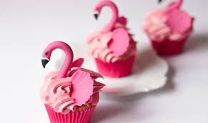 The Most Trend Forward Animal These Days Flamingo Of Course Top Your Cupcakes With Beautiful Birds For A Super Moment Dessert