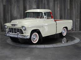 1955 Chevrolet Cameo For Sale In Bettendorf, IA | H255F019333 1957 Chevrolet Cameo Carrier 3124 Halfton Pickup Chevrolet Cameo Streetside Classics The Nations Trusted 1955 Pickup Truck Stock Photo 20937775 Alamy Rare And Original Carrier Pickup Sells For 1400 At Lambrecht Che 1956 3100 Volo Auto Museum 12 Ton Chevy Cameo Gmc Trucks Antique Automobile Club Of Sale 2013036 Hemmings Motor News On The Road Classic Rollections 1958 Start Run External Youtube Chevy Forgotten Truckin Magazine