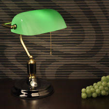 Green Bankers Lamp Shade Replacement by Replacement Shade Green Glaschirm Bankers Lamp Table Glass Ebay