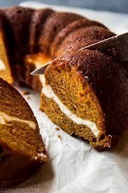Pumpkin Cheesecake Layer Pie Recipe by Pumpkin Cream Cheese Bundt Cake Sallys Baking Addiction