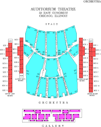 Chicago Theater Seating Chart Main Floor Ourcozycatcottage