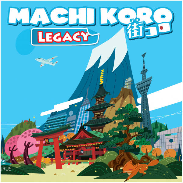 Pandasuarus Machi Koro Legacy Board Game