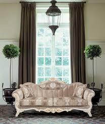 casa padrino luxus barock wohnzimmer set beige weiß gold 2 sofas 2 sessel 1 beistelltisch prunkvolle wohnzimmer möbel im barockstil