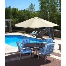 9 Ft Patio Market Umbrella by Spring Up 9 Foot Octagonal Champagne Olefin Market Umbrella Free