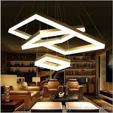Rectangle Light Fixture Discount Modern Led Pendant Lights For Dining Room Living Lighting Rectangular Rooms