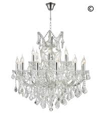 Maria Theresa Crystal Chandelier Grande 19 Light