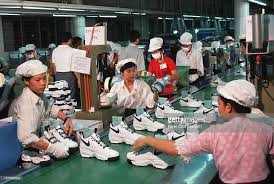 Nike Factory by Workers In A Nike Factory Ho Chi Minh City Work At A