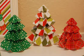 Tutorial Christmas Paper Trees
