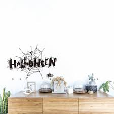 100 Decorated Wall Detail Feedback Questions About Halloween Easy To Clean And Wipe
