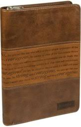 Journal Strong And Courageous Brown