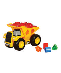 100 Cat Truck Toys CAT Dump Shape Sorter Toy Set Zulily
