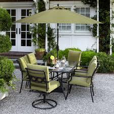 Sears Harrison Patio Umbrella by Garden Oasis Sc K 636sset Rockford 7pc Dining Set Green