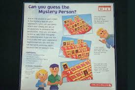 2005 Guess Who Milton Bradley Game