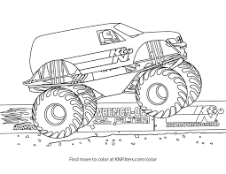 100 Monster Truck Coloring Pages Of S Grave Digger Valid