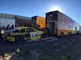 100 Kurtz Trucking NASCAR On Twitter NASCARGoesWest RT JoeGibbsRacing Car Swap In