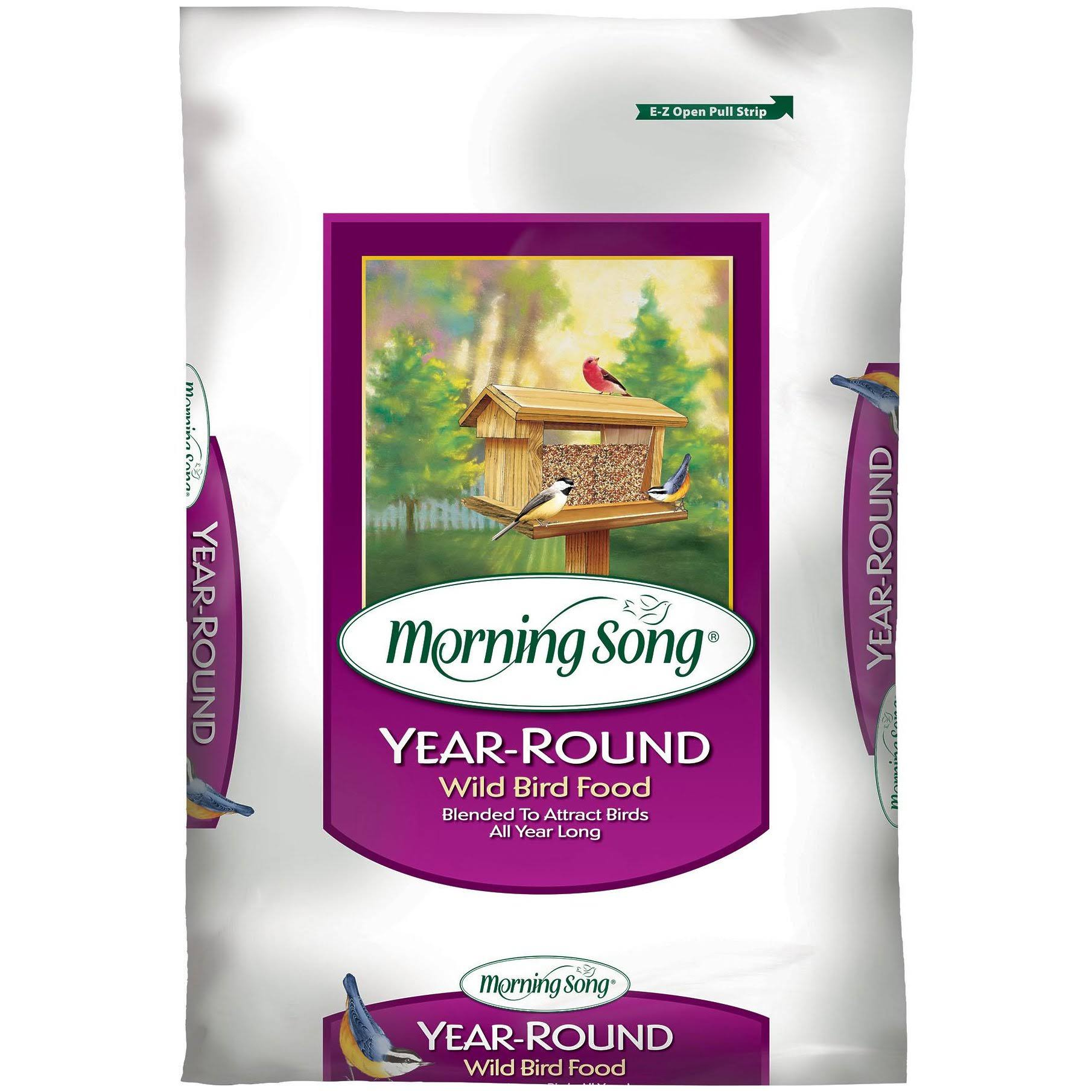 Morning Song 1022526 Year-Round Wild Bird Food - 40lbs