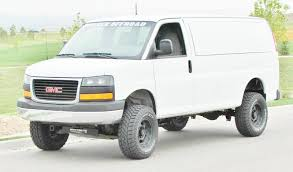 3 Lift Kit Chevy Van