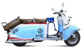 Download Vintage Motor Scooter Stock Photo Image Of Italian
