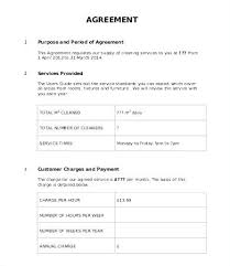 Training Service Level Agreement Template Information