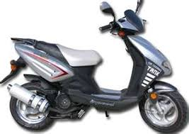 150cc Moped Scooter 4 Stroke