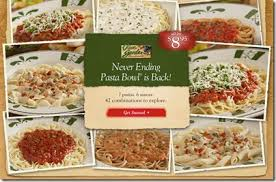 Steals Deals and Life Olive Garden Promotions and Specials}