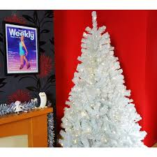 3ft Pre Lit Blossom Christmas Tree by The Pre Lit Bianca Pine Tree With Warm White Lights 3ft To 10ft