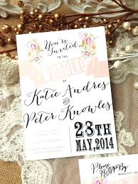 Shabby Chic Wedding Invites Rustic Invitation Suite Unique Custom Designed