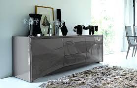 Fancy Dining Room Furniture Buffet Oriental Black Lacquer Landscape