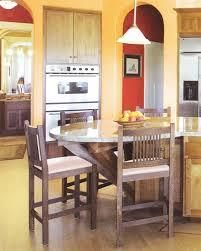 orange color kitchen design quicua