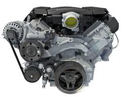 100 Turbine Truck Engines 3D V8 Engine With Semi Interior Automotive Engine Pickup Engines