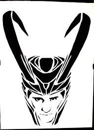 Avengers Pumpkin Stencils by Avengers Villains Clipart Clip Art Library