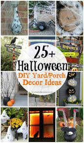 25 DIY Halloween Yard & Porch Decor Ideas
