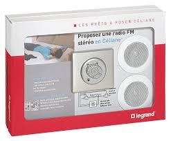 radio salle de bain prêt à poser céliane diffusion sonore avec hp spot complet