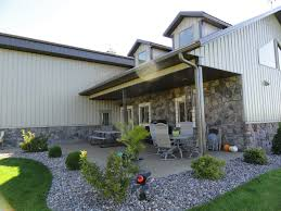 Home Ideas Pole Barn Residential Homes Metal Building Kits Garage ... Home Steel Truss Pole Barns Vaulted Clearspan Web Buildings Northwest Llc Open Shelter And Fully Enclosed Metal Smithbuilt Barn Kit Prices Strouds Building Supply Decorations 84 Lumber Garage 30x40 Roof Beautiful Roof Trusses Wood How To Build A Pole Barn Garage Pinterest Used Prefab For Sale